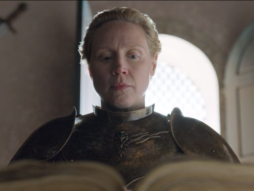 Here's everything Brienne wrote inside the Kingsguard book during the 'Game of Thrones' finale