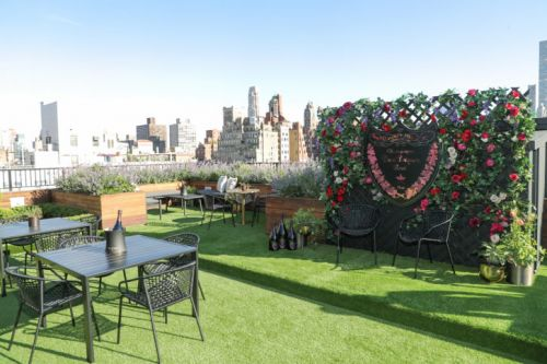 Dom Pérignon Opens Rooftop Garden at The Surrey