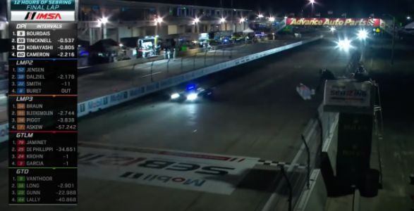 All-French No. 5 JDC-Miller Cadillac DPi Takes Impressive Win At 12 Hours Of Sebring