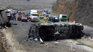 Mexico Bus Crash: At least 14 dead and 50 injured