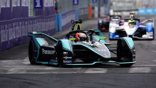 Mitch Evans Wins Jaguar's First Formula E Race in Rome