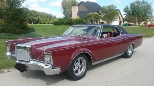 At $15,000, Could This 1969 Lincoln Continental Mark III Drive You to Drinking?