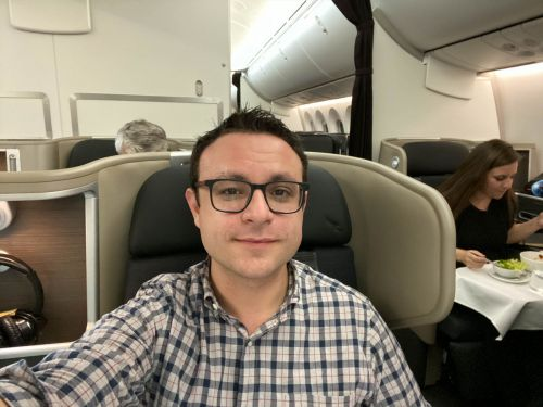 I flew on Qantas' 'Project Sunrise,' a nonstop test flight from New York to Sydney, Australia, which took almost 20 hours and covered nearly 10,000 miles - here's what it was like