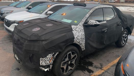 This Hyundai Santa Cruz Test Mule Gives Us Hope That Hyundai Will Finally Sell A Small Pickup