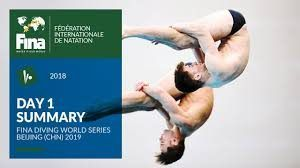 London to Host FINA Diving World Series 2019