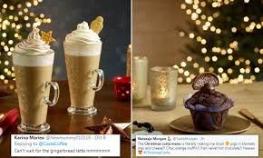 Barista Brings Christmas Delights: Plum Cake & Varieties of Hot Chocolate Beverages