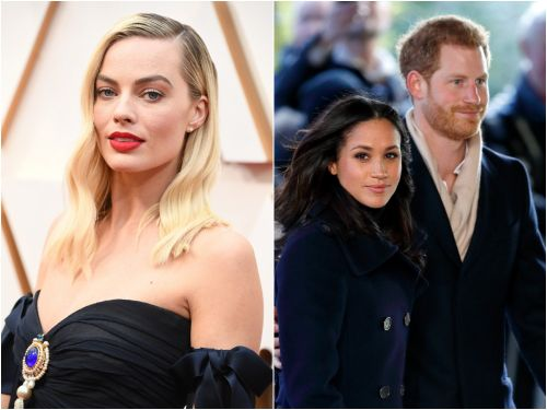Margot Robbie says she understands Meghan Markle and Prince Harry's decision to 'move halfway across the world' like she did