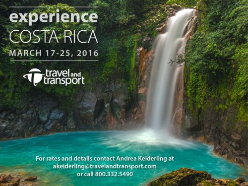 Costa Rica Adventure - with Travel and Transport!
