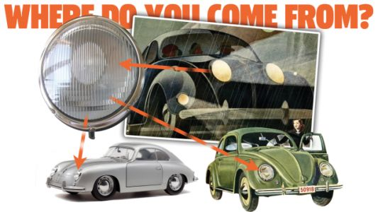 This Might Be The First Car To Have The Iconic VW Beetle/Porsche 356 Headlight