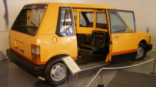 MOMA's Volvo Was a Safer, Boxier 'Taxi of Tomorrow'