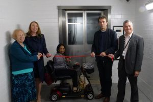 New lifts officially opened at Carshalton Station With Tom Brake MP and Local Campaigners