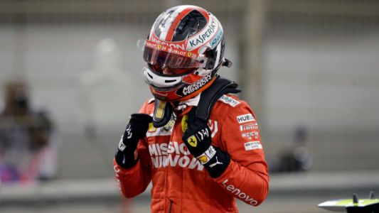 Charles Leclerc Secures Bahrain GP Pole In His Second Race For Ferrari