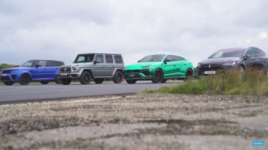 Watch A Bunch Of Fast SUVs Drag Race