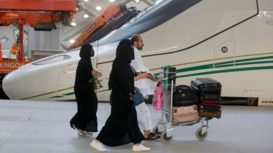 High Speed Train to Mecca Open For First Hajj