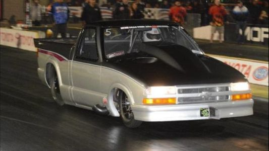 Here's Your Chance To Rule The Street With A Road Legal Chevy S10 That Runs 5s