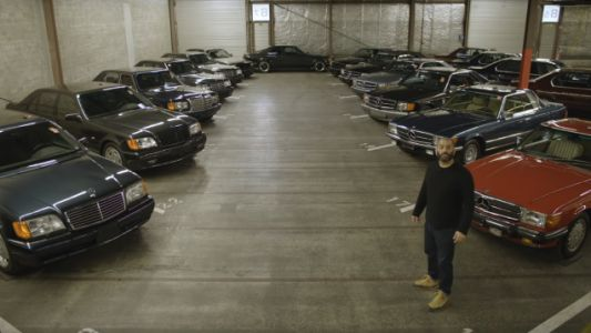 Chris Harris Visits a Room Full of the Best Cars on the Planet