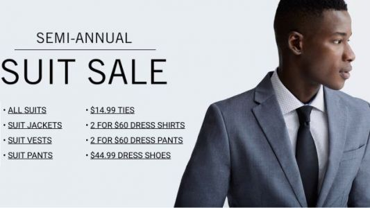 Get Ready For Wedding Season With The Perry Ellis Semi-Annual Suit Sale