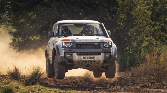 The Defender 90 Looks Even Cooler As A Rally Machine