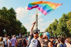 In Cologne Germany, the biggest pride parade is about to start!