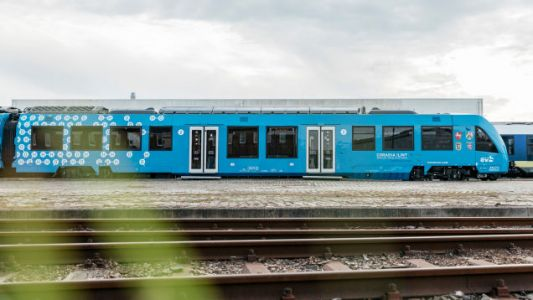 The World's First Hydrogen-Powered Train is Now On Track in Germany
