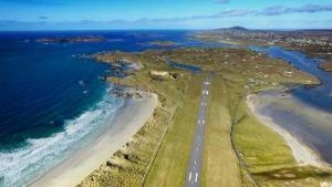 Donegal Airport has been named as most scenic in the world