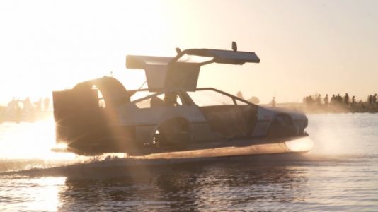 Screw the Roads, You Want This DeLorean Hovercraft for the Seas of Life