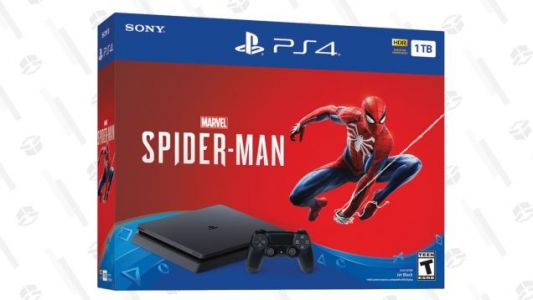 The Big PS4 Black Friday Deal Is Available Now: $199 For the Console Plus Spider-Man