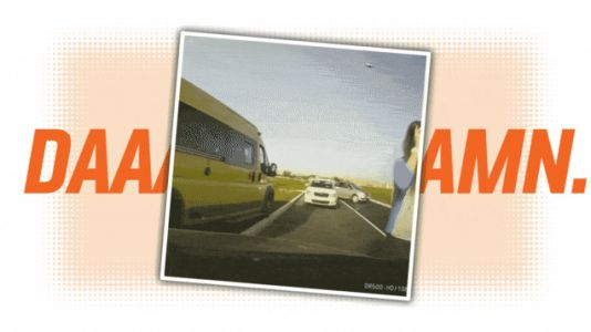 This May Be The Sistine Chapel of Idiotic Driving Dashcam Videos