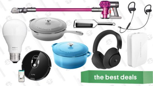 Thursday's Best Deals: Dolby Headphones, ThermoPop, Dyson V6, and More