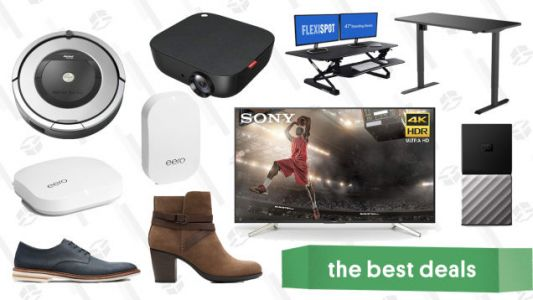 Tuesday's Best Deals: Philips Hue, Sony 4K TV, Clarks, Anker Projectors, and More
