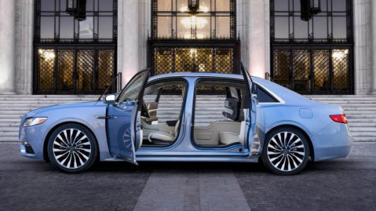 Lincoln's Making 80 Special Edition Continentals With Suicide Doors