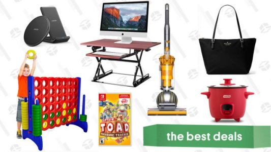 Wednesday's Best Deals: Dyson Ball Vacuum, Giant Outdoor Games, Anker Charging Gear, and More