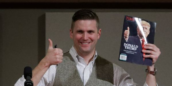 CNN faces backlash after interviewing white nationalist Richard Spencer about Trump's racist tweets