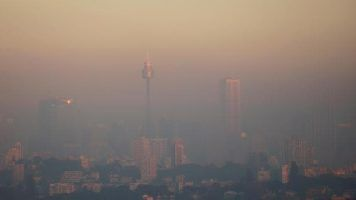 Sydney residents woke up to a smoke-filled morning