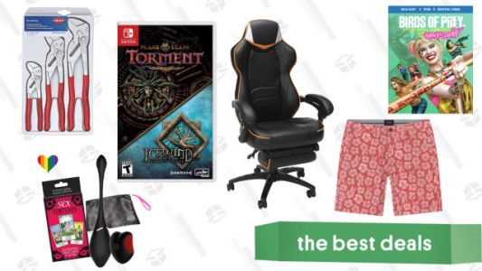 Saturday's Best Deals: Birds of Prey, Gaming Chairs, Stylish Chinos, and More