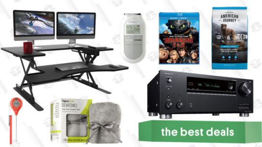 Saturday's Best Deals: A/V Receiver, American Eagle Apparel, Shower Heads, and More