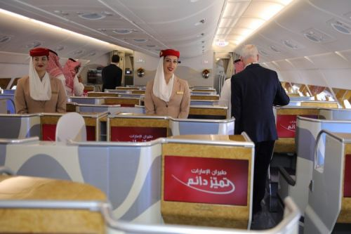 More than 3000 people visit Emirates A380 at first Saudi International Airshow
