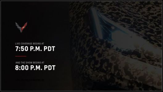 Here's How to Watch the C8 Chevrolet Corvette Reveal Tonight