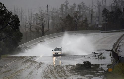 Hurricane Florence's rains eroded a coal ash landfill in North Carolina, possibly releasing enough ash to fill 180 dump trucks