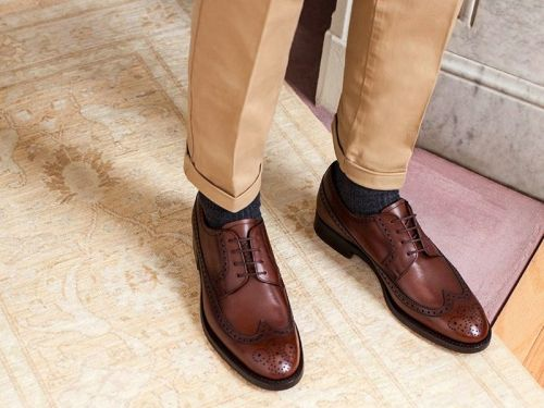 Popular men's footwear startup Jack Erwin is running its first-ever sale - these 16 dress shoes are all 50% off