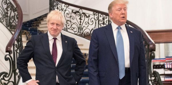 The UK wants to join with Trump to form a new global alliance to end China's grip on 5G