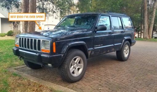 A 1,500 Mile Road Trip In My $500 Jeep Cherokee Proved That I Scored The Deal Of The Century