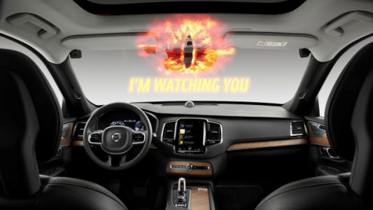 Volvo Wants You to Stop From Texting While Driving by Monitoring You With an In-Car Camera