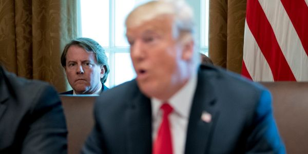 White House counsel Don McGahn reportedly calls Trump 'King Kong' behind his back