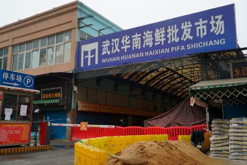 The Chinese CDC now says the coronavirus didn't jump to people at the Wuhan wet market - instead, it was the site of a super-spreader event