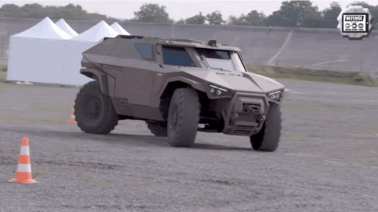 This French Military Vehicle Is Kind of Like a Real-Life Halo Warthog