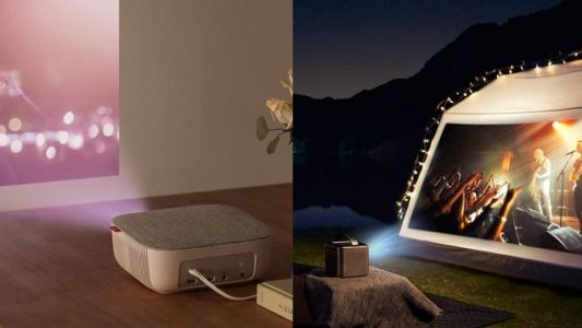 Take Your Pick of Discounted Anker Projectors, Starting at $110