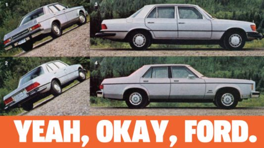 This May Have Been The Most Delusional Ford Advertising Campaign Ever