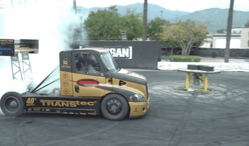 Semi Trucks Can Do Sick Donuts, Now That You Ask