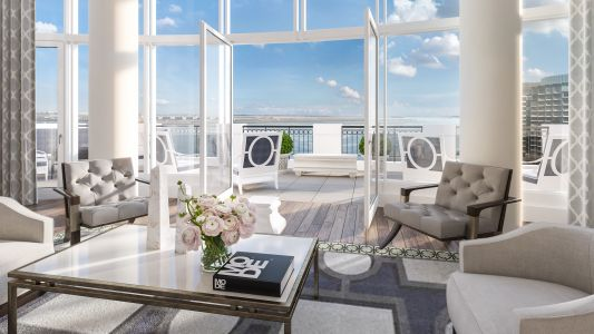 Boston's Finest Suite is Debuting on the Harbor